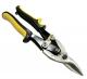 Ножницы по металлу 250 мм с обрезиненными двухкомпонентными ручками прямые