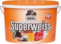 ДЮФА SUPERWEISS (Супербелая) краска водоэмульсионная, 10л