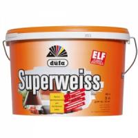 ДЮФА SUPERWEISS (Супербелая) краска водоэмульсионная, 5л