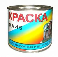 Краска масляная МА-15 белая, банка 2.5кг