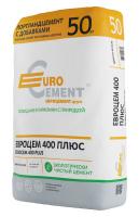 ЕвроЦемент M400Д20 32.5Н, 50 кг