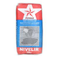 Наливной пол быстротвердеющий Русеан Nivelir 20 кг