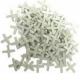 Крестики 4 мм для кладки плитки пластмассовые (100 шт)