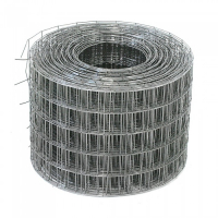 Сетка кладочкая черная 5х5мм, рулон 0.50х50м, диам 1.6