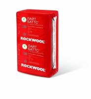Роквул (Rockwool) Лайт Баттс 1000x600x50мм 0,300мЗ/6м2