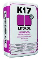 Клей плиточный Литокол К17 серый 25кг