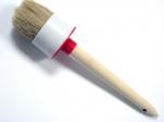 Кисть круглая №12 (45 мм) с деревянной ручкой