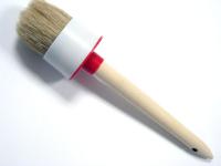 Кисть круглая с деревянной ручкой Matrix