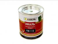 Эмаль ПФ-115 черная, банка 2.7кг