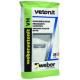 Шпатлевка финишная цементная Weber.Vetonit VH влагостойкая серая 20 кг