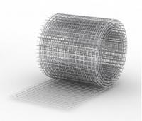 Черная сварная сетка, ячейка 50х50мм, рулон 1.5х45м, диам.1.6